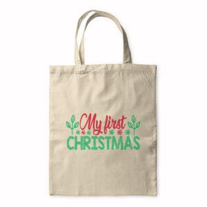 My First Christmas – Tote Bag