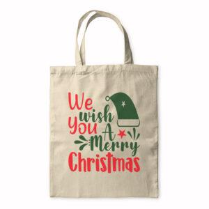 We Wish You A Mery Christmas – Tote Bag