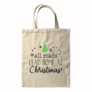 All Roads Lead Home At Christmas – Tote Bag