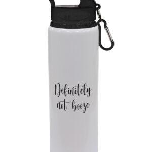 Definitely Not Booze – Fun Designs – Sports Bottle