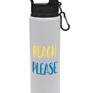 Beach Please – Fun Summer Drinks Bottle