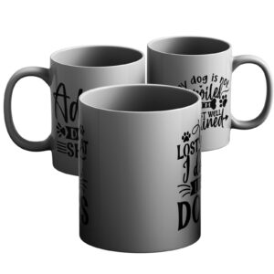 Ask Me About My Dogs – Selection of Printed Mug Designs for Dog Lovers