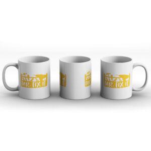 Mr. Fix It  – Printed Mug