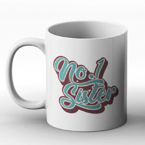 No.1 Sister – Birthday Gift Mug