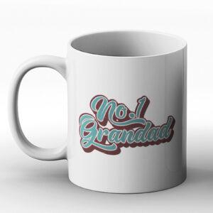 No.1 Grandad – Birthday Gift Mug