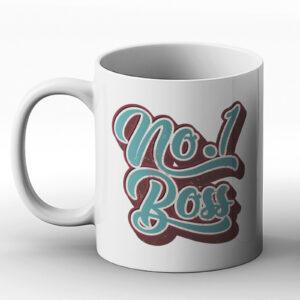 No.1 Boss – Birthday Gift Mug