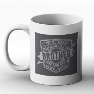 The Ultimate Brother – Classic Western Design Gift Mug