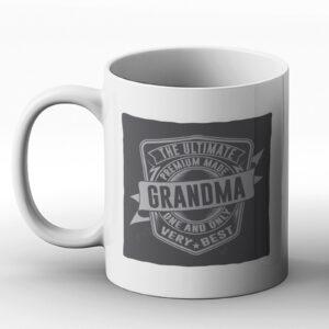 The Ultimate Grandma – Classic Western Design Gift Mug
