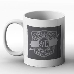The Ultimate Son – Classic Western Design Gift Mug