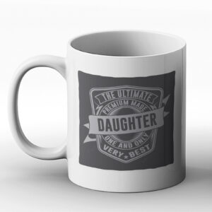 The Ultimate Daughter – Classic Western Design Gift Mug