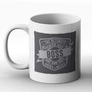 The Ultimate Boss – Classic Western Design Gift Mug
