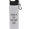 Keeping Me Busy Until Happy Hour - Fun Gift Design - Drinks Bottle