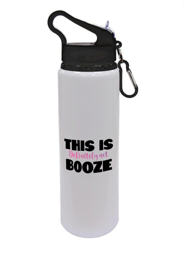 THIS IS Definitely Not BOOZE - Fun Gift Design - Drinks Bottle