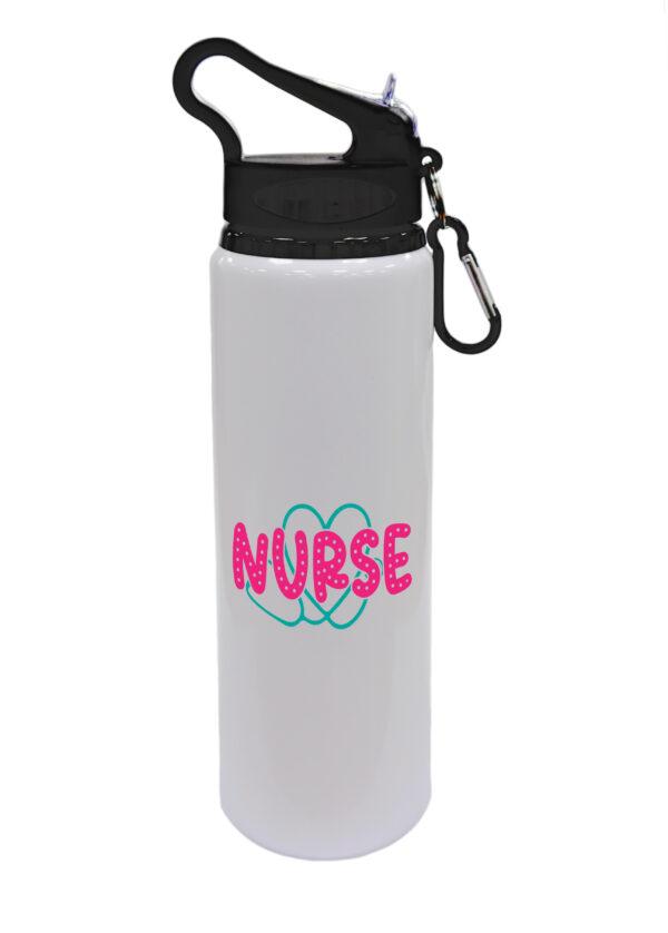 Nurse (stethoscope heart) - Drinks Bottle