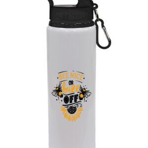 Bee Nice Or Buzz Off – Drinks Bottle