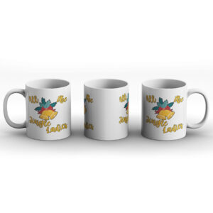 All The Jingle Ladies – Funny Christmas Present – Stocking Filler – Bells – Gift Mug