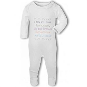 A Baby Makes Love Stronger cute – Baby Romper Suit