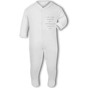A Baby The Whole World Adores Blue Boy – Baby Grow