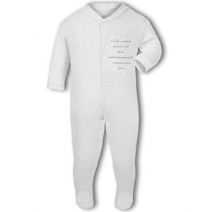 A Baby The Whole World Adores Pink Girl – Baby Grow