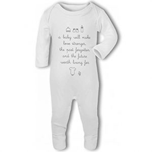 A Baby Will Make Love Stronger – Baby Romper Suit
