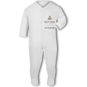 Accountant – Keep Calm my Daddy/Mummy is a funny – Baby Grow