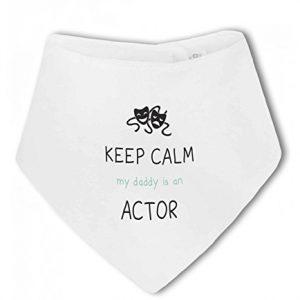 Actor – Keep Calm my Daddy / Mummy is an … funny – Baby Bandana Bib