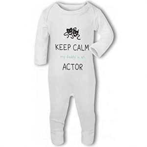 Actor – Keep Calm my Daddy/Mummy is an funny – Baby Romper Suit