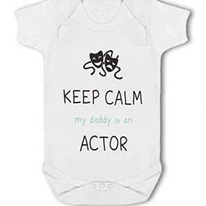 Actor – Keep Calm my Daddy/Mummy is an funny – Baby Vest