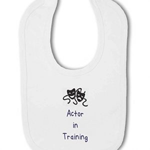 Actor in Training blue – Baby Bib