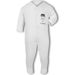 Actor in Training blue – Baby Grow