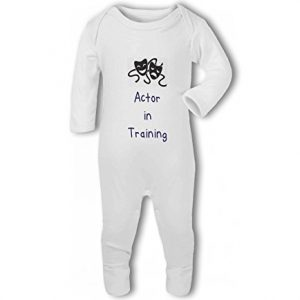 Actor in Training blue – Baby Romper Suit