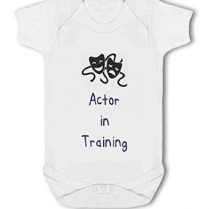 Actor in Training blue – Baby Vest