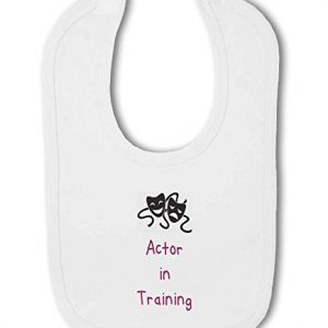 Actor in Training pink – Baby Bib