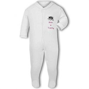 Actor in Training pink – Baby Grow