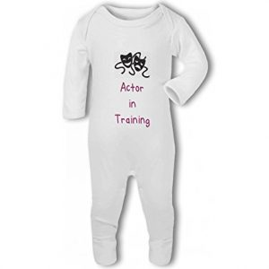 Actor in Training pink – Baby Romper Suit