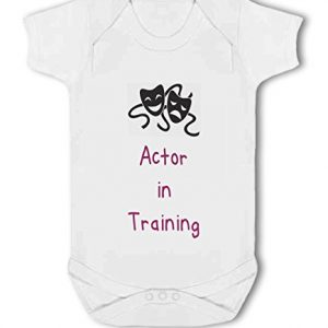 Actor in Training pink – Baby Vest