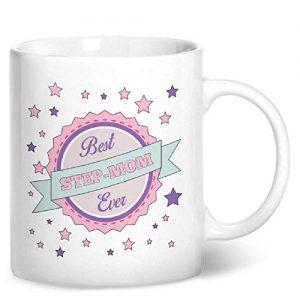 Best Step-mom Ever – Printed Mug