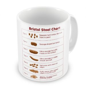 Bristol Stool Chart Novelty Doctor Nurse Carer Gift Mug