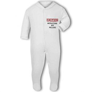 Caution Instructions Not Included funny – Baby Grow