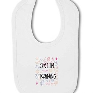 Chef in Training with Food Design – Baby Bib