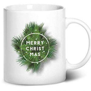 Christmas Fern Design 2 – Printed Mug