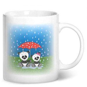 Cute Pandas – Printed Mug