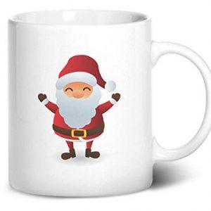 Cute Santa Claus Christmas Stocking Filler – Printed Mug