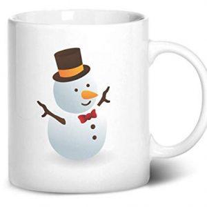 Cute Snowman Christmas Stocking Filler – Printed Mug