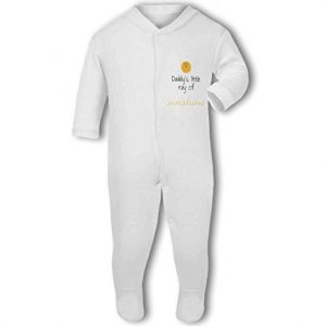 Daddys Little Ray of Sunshine cute – Baby Grow