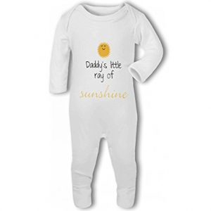 Daddys Little Ray of Sunshine cute – Baby Romper Suit