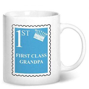 First Class Grandpa – Printed Mug