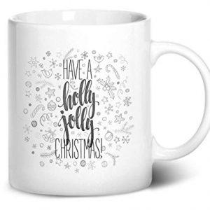 Have a Holly Jolly Christmas Design 1 – Printed Mug
