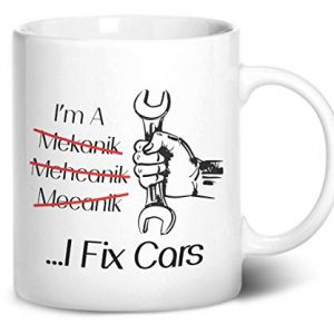 I Fix Cars! funny mug – Printed Mug
