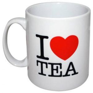 I Love Tea Mug by MugBug